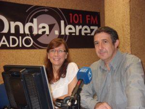 Con Lola Rueda, homenaje Alvaro Domecq